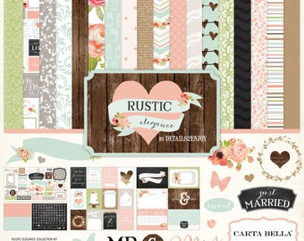 Rustic Elegance Paper Collection