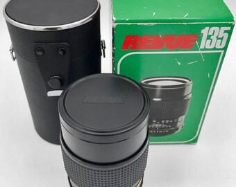 Auto Revuenon MC 135mm f2.8 lens New in Box