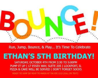 Printable Birthday party invitation- DIY