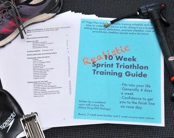 Realistic 10 Week Sprint Triathlon Training Plan