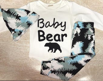 Baby Bear for infant boys