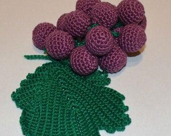 grapes, toy, amigurumi, handmade, gift, stuffedtoy, crochettoy