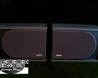 Vintage Bose 2.2 Series II 2 Direct Reflecting Bookshelf Speakers
