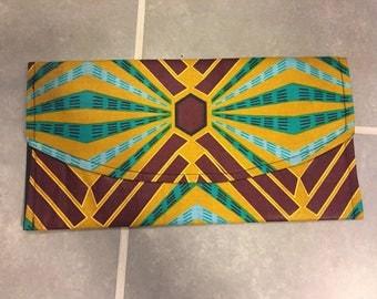 Stunning African Print Clutch