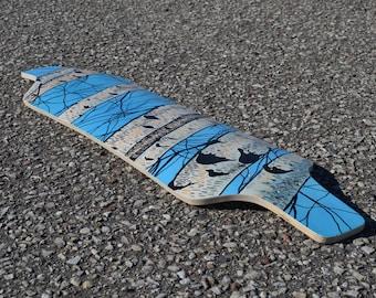 LONGBOARD DECK / Handmade longboard / Birchland boards