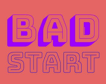 Bad Magazine issue 001 Bad Start