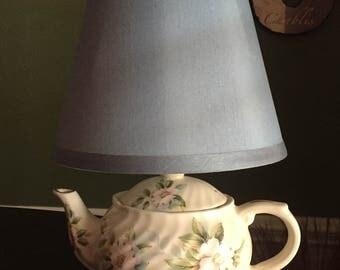 Porcelain Teapot Lamp
