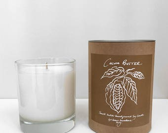 Scented Candle in Cocoa Butter