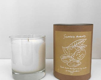Scented Candle in Sugared Almond