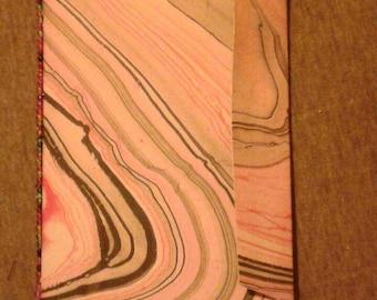Envelope journal pink