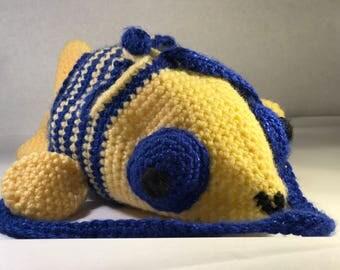 Crochet Fish Purse