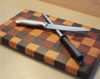 Handcrafted End Grain Cutting Board