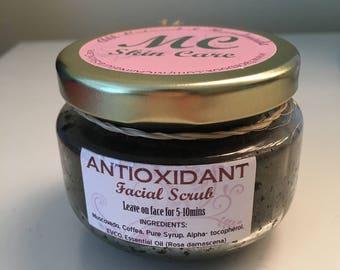 Antioxidant Facial Scrub