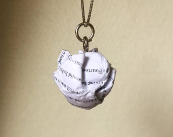 Harry Potter and the Sorcerers Stone - Paper Ball Pendant