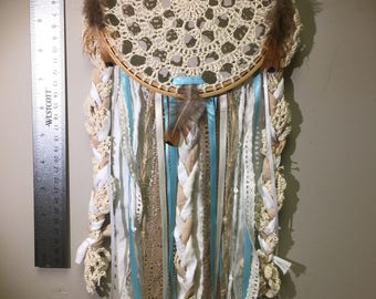 Bohemian lace dream catcher