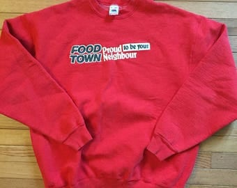 Food town pullover sweater