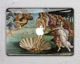 famous art macbook skin macbook decal painting macbook sticker paint macbook cover macbook pro skin macbook air 13 The Birth of Venus FSM028