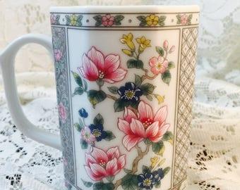 Takahashi San Francisco Alyse Floral Cup - Coffee Tea