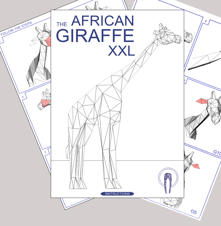 Giraffe XXL Papercraft, 3D Papercraft - Build Your Own Low ... - photo#33