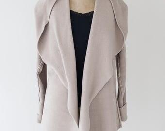 Cozy Luxe Fleece Cardigan Hooded Jacket