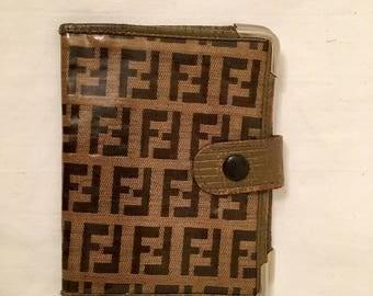 Vintage Fendi Photo/Credit Card and Business Card Holder
