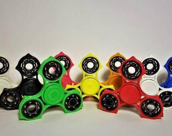 Ergonomic Fidget Spinner EDC Spinner Tri-Spinner Hand Spinner Customizable