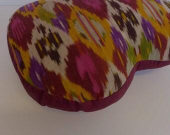 Uzbek Ikat Pillow 12 x 16
