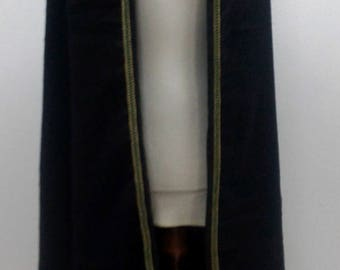 Pointy/Fantasy Hoodie coat cape with hood/larp/LARP/live action role play cape/cloak for larping
