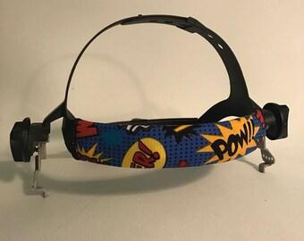 Comic Snips Welding Hood Headband