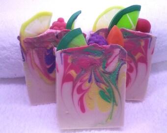 Sangria handmade artisan cold process soap