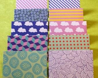 Giftcard Envelope - Hand Made, Small Envelopes, Scrapbooking Envelopes