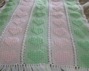 Hugs & Hearts Baby blanket