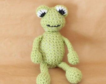Crochet Toy - Frog
