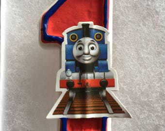 Thomas the Train Birthday Candle
