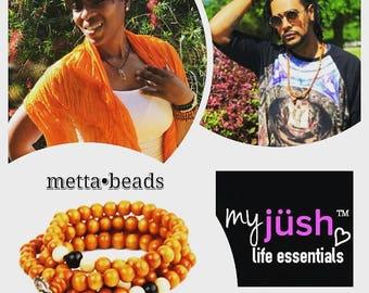 myjüsh life essentials : Metta Beads Tibetan Bracelet/Necklace