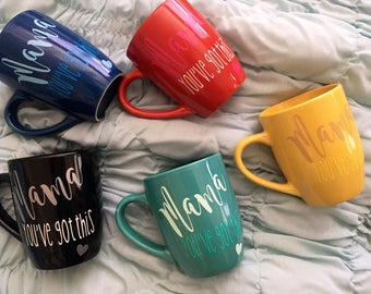 Customizable Mama Mugs