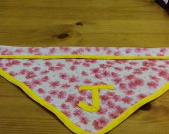 Neckerchief for dogs made to order with one initial.