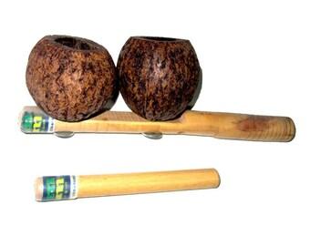 Agogo Castanha - Hand Made Brazilian Agogo Bells