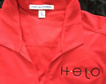 Women's Polo Helo Embroidered
