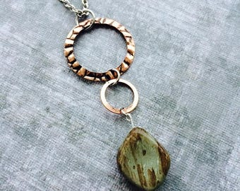 Earthly Rose gold Necklace