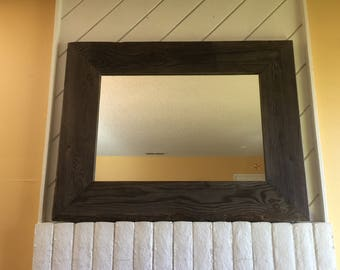 Large Rustic Mirror