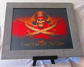 Dead Men Tell No Tales Pirates of the Caribbean Ride Poster