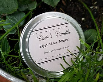 EGYPTIAN AMBER - Scented Candle