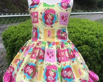 Strawberry Shortcake Peek a boo dress