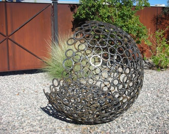 Yard Art, Metal Sculpture