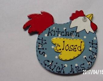 Chicken/Rooster Refrigerator Magnet