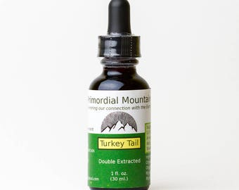 Double Extracted Turkey Tail Tincture