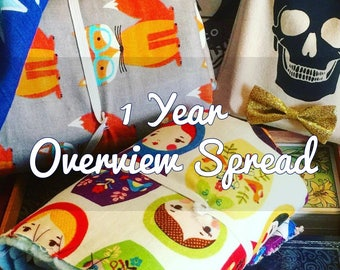 Year Overview Tarot Reading