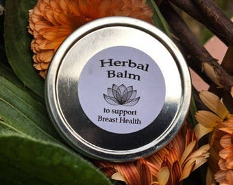 Herbal balm to support Breast Health