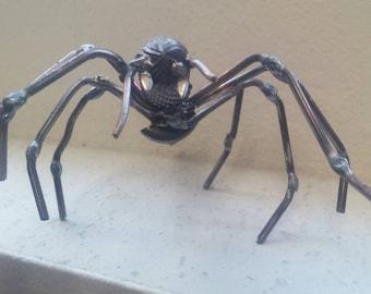 Metal Spider, Metal Art, Spider